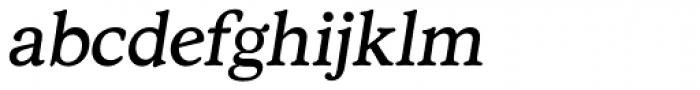 Stratford Italic Font LOWERCASE