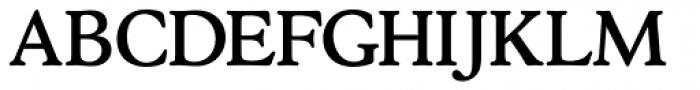 Stratford Roman Font UPPERCASE