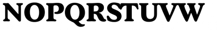 Stratford Serial ExtraBold Font UPPERCASE