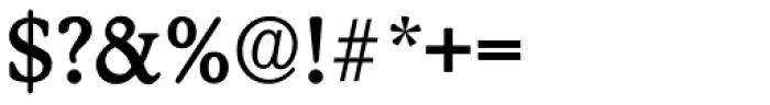 Stratford Serial Medium Font OTHER CHARS