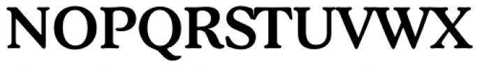Stratford Serial Medium Font UPPERCASE