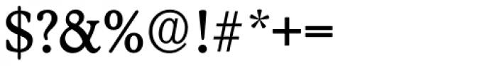 Stratford Serial Regular Font OTHER CHARS