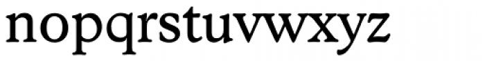 Stratford Serial Regular Font LOWERCASE