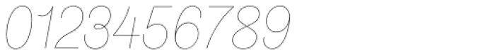 Stratic Script Hairline Font OTHER CHARS