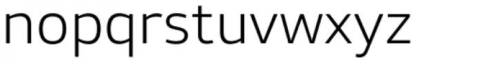 Stratus Light Font LOWERCASE