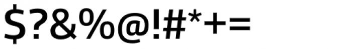 Stratus Medium Font OTHER CHARS