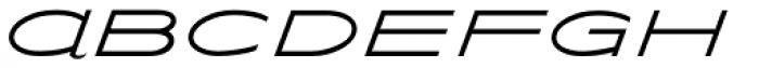 Streamliner Font UPPERCASE