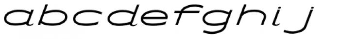 Streamliner Font LOWERCASE