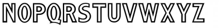 Streamwood JNL Font UPPERCASE