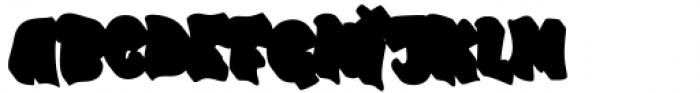 Street Air Shadow Font LOWERCASE