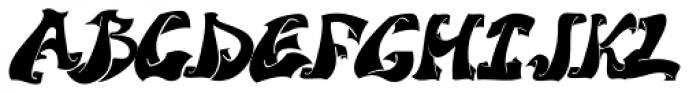 Street Legal Font UPPERCASE