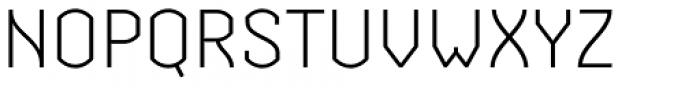 Streetline Light Font UPPERCASE