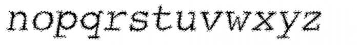 Streetwise Oblique Font LOWERCASE