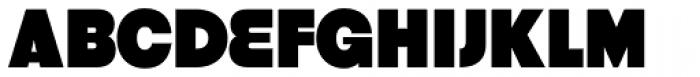 Strenuous Black Font UPPERCASE