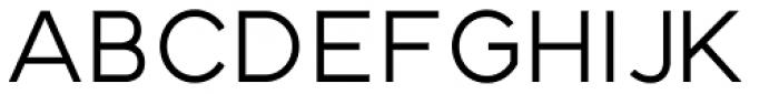 Strima Medium Font UPPERCASE