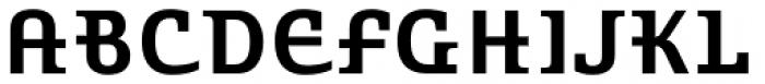 Stroganov Bold Font UPPERCASE