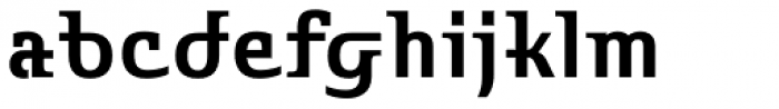 Stroganov Bold Font LOWERCASE