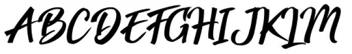 Strongheld Regular Font UPPERCASE