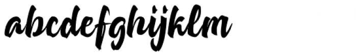Strongheld Regular Font LOWERCASE