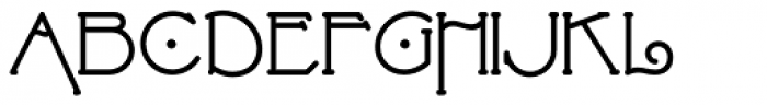 Strongs Draughtsman NF Bold Font UPPERCASE
