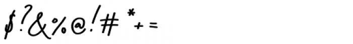 Stroom Script Bold Font OTHER CHARS