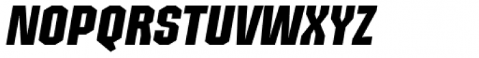 Structia Italic Font UPPERCASE