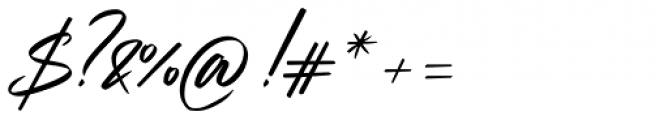 Strude Regular Font OTHER CHARS