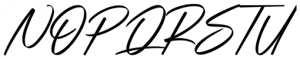 Strude Regular Font UPPERCASE