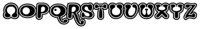 Strumpf Contour Font UPPERCASE