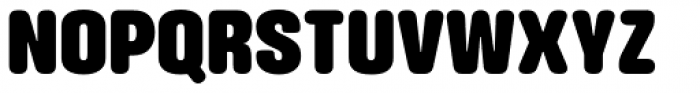 Struthio Black Round Font UPPERCASE