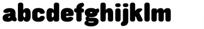Struthio Black Round Font LOWERCASE