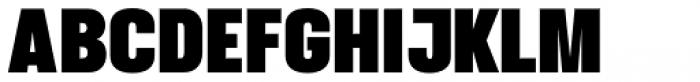Struthio Black Font UPPERCASE