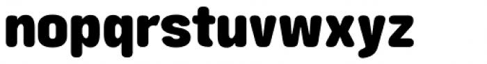 Struthio Ultrabold Round Font LOWERCASE