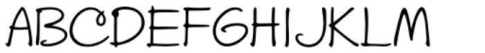 Stu Print Upright Font UPPERCASE