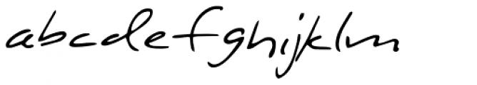 StuHeinecke Regular Font LOWERCASE