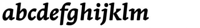 Stuart Standard Bold Italic Caption PLF Font LOWERCASE