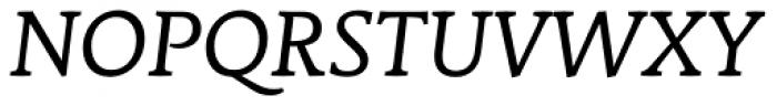 Stuart Standard Italic Text OSF Font UPPERCASE