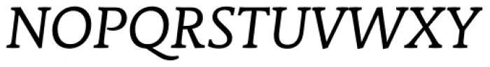 Stuart Standard Italic Text TLF Font UPPERCASE