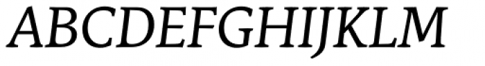 Stuart Standard Italic Titling TLF Font UPPERCASE