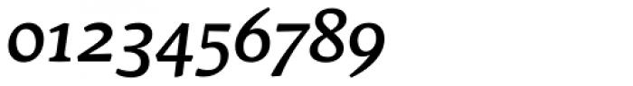 Stuart Standard Medium Italic Text OSF Font OTHER CHARS