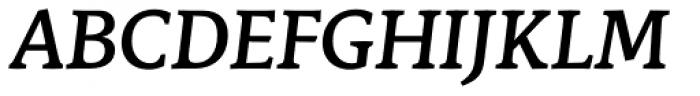 Stuart Standard Medium Italic Text OSF Font UPPERCASE
