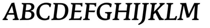 Stuart Standard Medium Italic Titling PLF Font UPPERCASE
