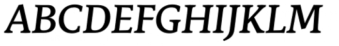 Stuart Standard Medium Italic Titling TLF Font UPPERCASE