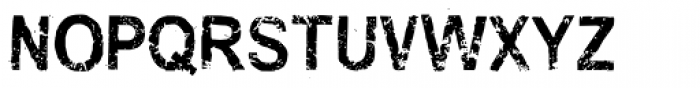 Stubble Bold Condensed Font UPPERCASE