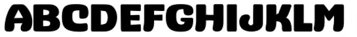Stubby Bold Font UPPERCASE