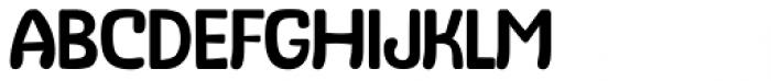 Stubby Extra Light Font UPPERCASE