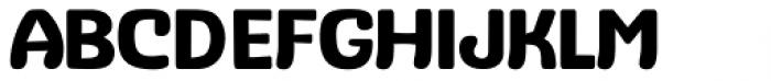 Stubby Medium Font UPPERCASE