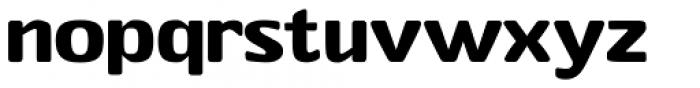 Stubby Medium Font LOWERCASE