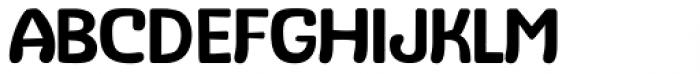 Stubby Regular Font UPPERCASE