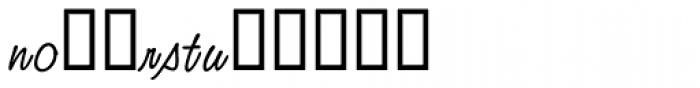 Studio Script Alt Two Font LOWERCASE